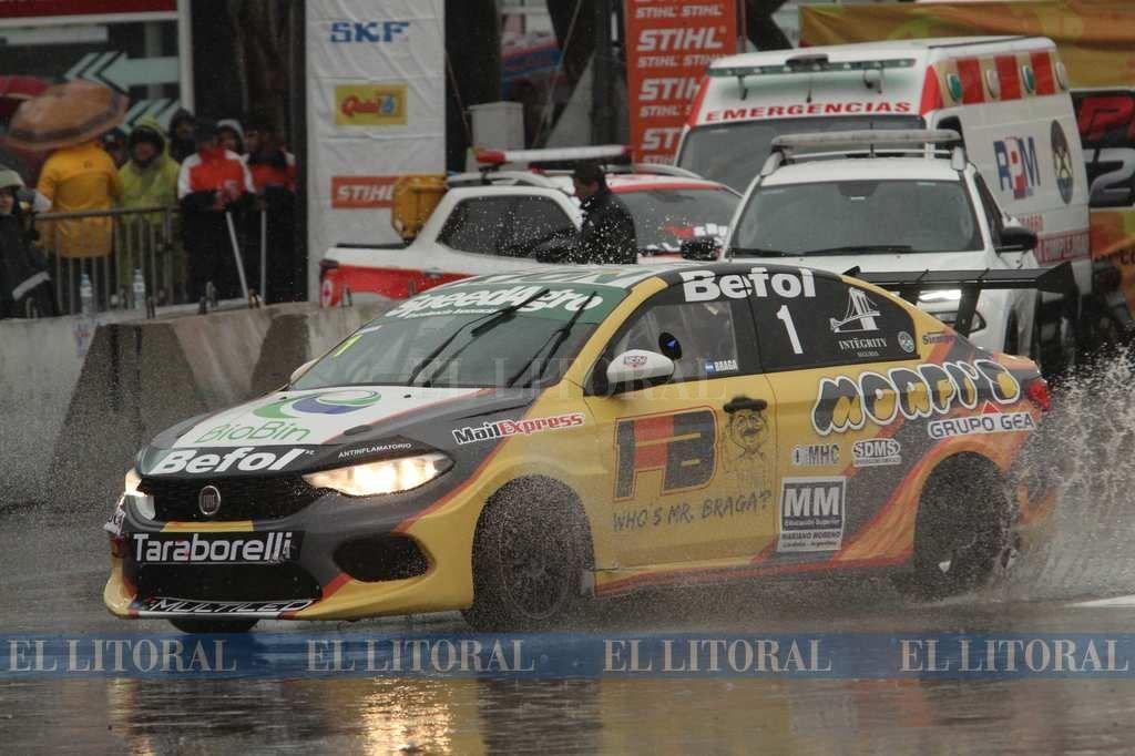 Braga, ganador en la Fiat Competizione <strong>Foto:</strong> Mauricio Garín