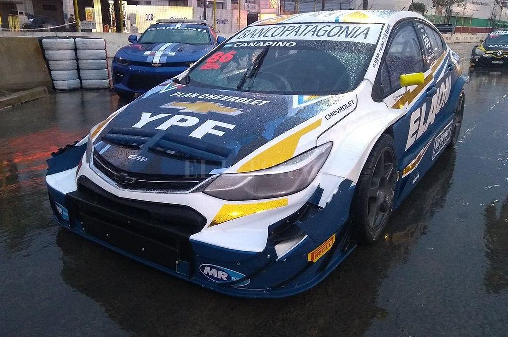 Chevrolet Cruze de Agustín Canapino <strong>Foto:</strong> @CarburandoTV