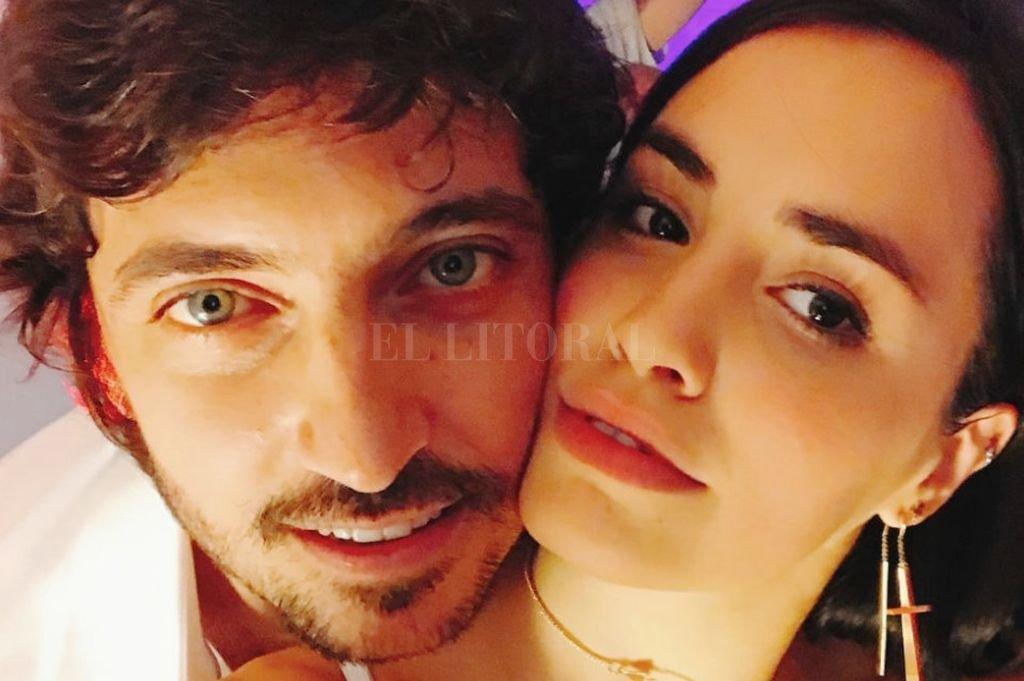 Lali Espósito y su novio, Santiago Mocorrea. <br /> <strong>Foto:</strong> Internet