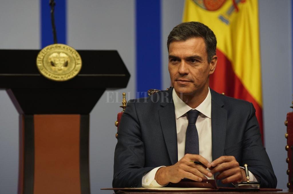 El presidente del Gobierno español, Pedro Sánchez. <strong>Foto:</strong> Archivo