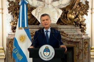 Macri confirmó la reducción de su gabinete y el aumento de la ayuda social