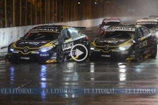 Video onboard: las mejores maniobras de la carrera nocturna