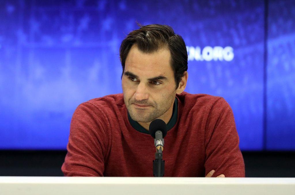 Roger Federer habló tras ser eliminado del US Open. <strong>Foto:</strong> Us Open