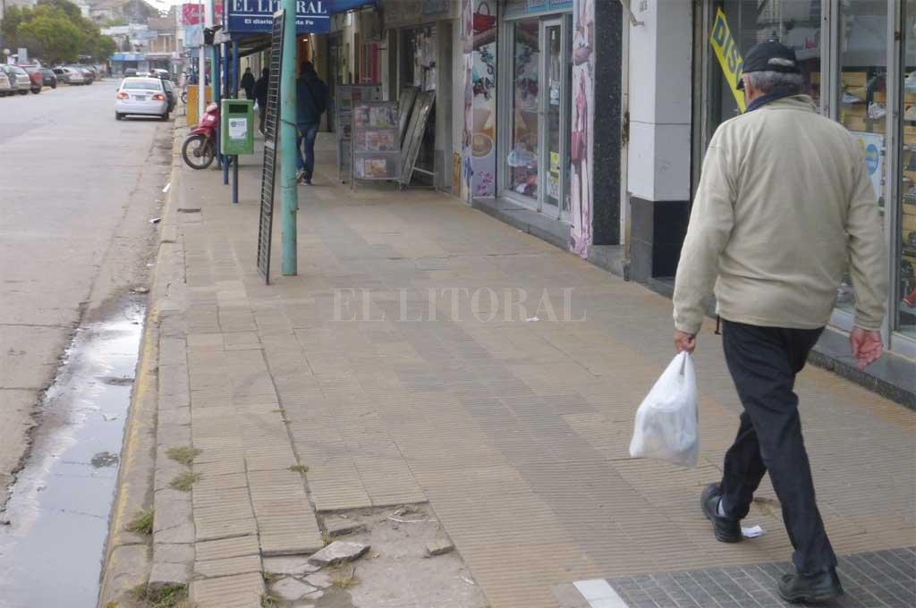 El hecho se produjo sobre la transitada calle 25 de Mayo en Santo Tomé <strong>Foto:</strong> Archivo El Litoral