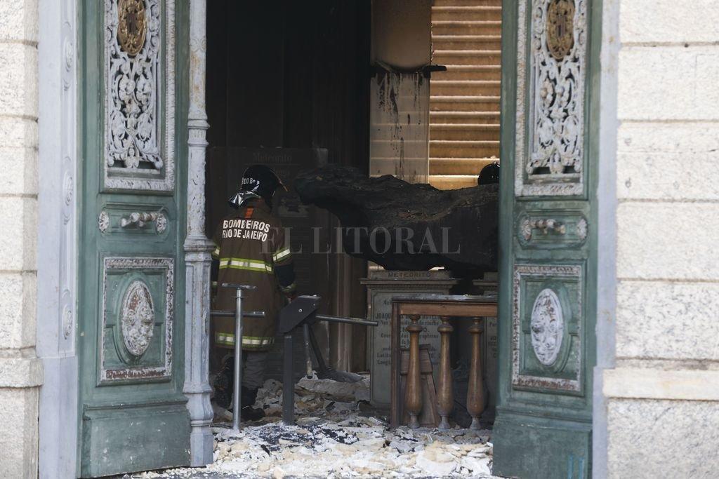 Se incendió el Museo Nacional de Brasil. Crédito: dpa