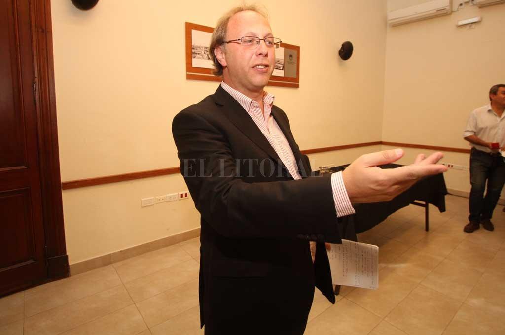 Gonzalo Saglione, el encargado de las cuentas santafesinas ante la incertidumbre de las cuentas del país.  Crédito: Archivo El Litoral