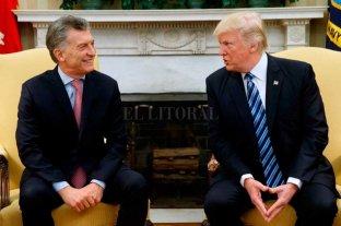 Macri habló con Trump sobre la situación de Argentina