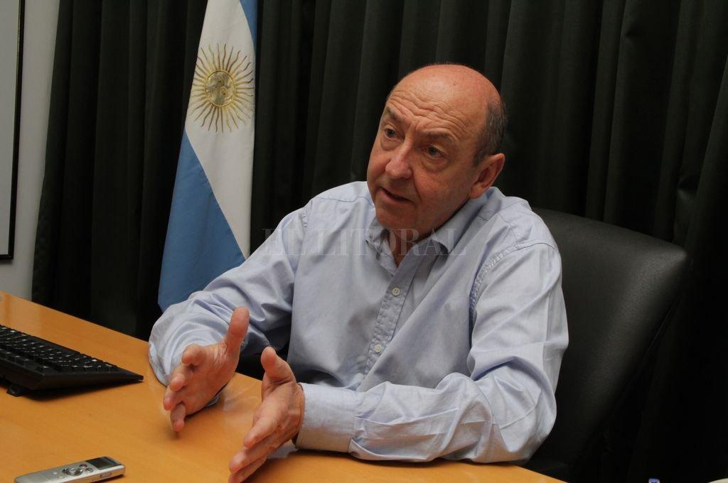 Jorge Álvarez, ministro de Desarrollo Social de la provincia. <strong>Foto:</strong> Guillermo Di Salvatore