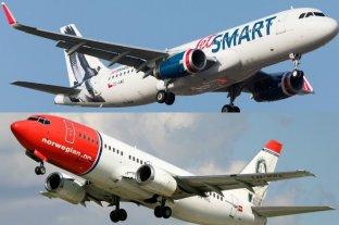 Las aerolíneas low cost Norwegian y JetSmart ya comenzaron a vender pasajes en Argentina