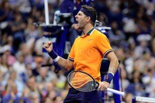 Del Potro avanzó a las semifinales del US Open