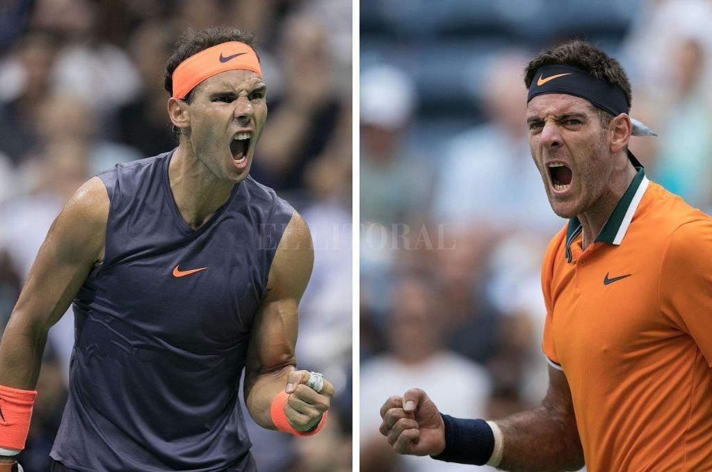 Este jueves, Rafael Nadal y Juan Martín Del Potro jugarán una de las semifinales del Abierto de Estados Unidos. <strong>Foto:</strong> Archivo