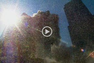 En primera persona: difunden imágenes inéditas del desplome de una de las Torres Gemelas