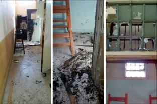 Condena y multa para un   preso que quemó su celda