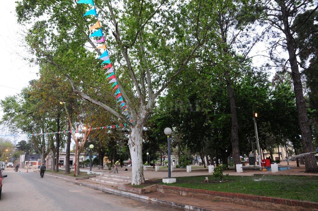 El crimen se consumó en ocasión de los festejos por el Día de la Primavera de 2015 en inmediaciones de la plaza de San José del Rincón. <strong>Foto:</strong> Flavio Raina / Archivo