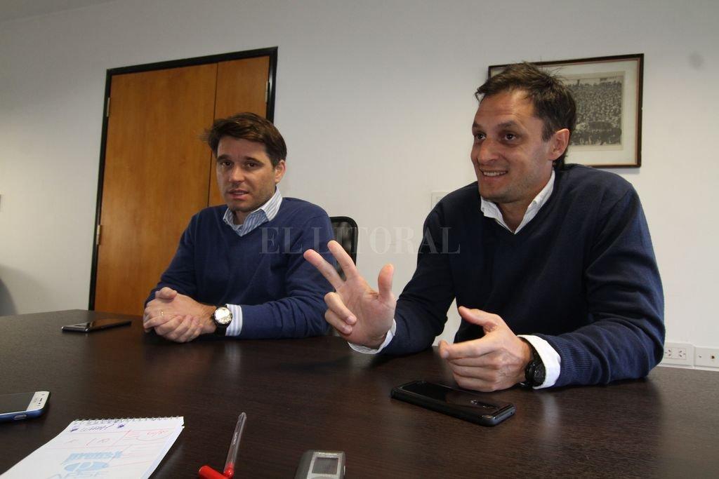 César Carrilero, gerente general de PB Leiner Argentina, y Lisandro Bechis, gerente de Compras y Abastecimiento. Crédito: Guillermo Di Salvatore