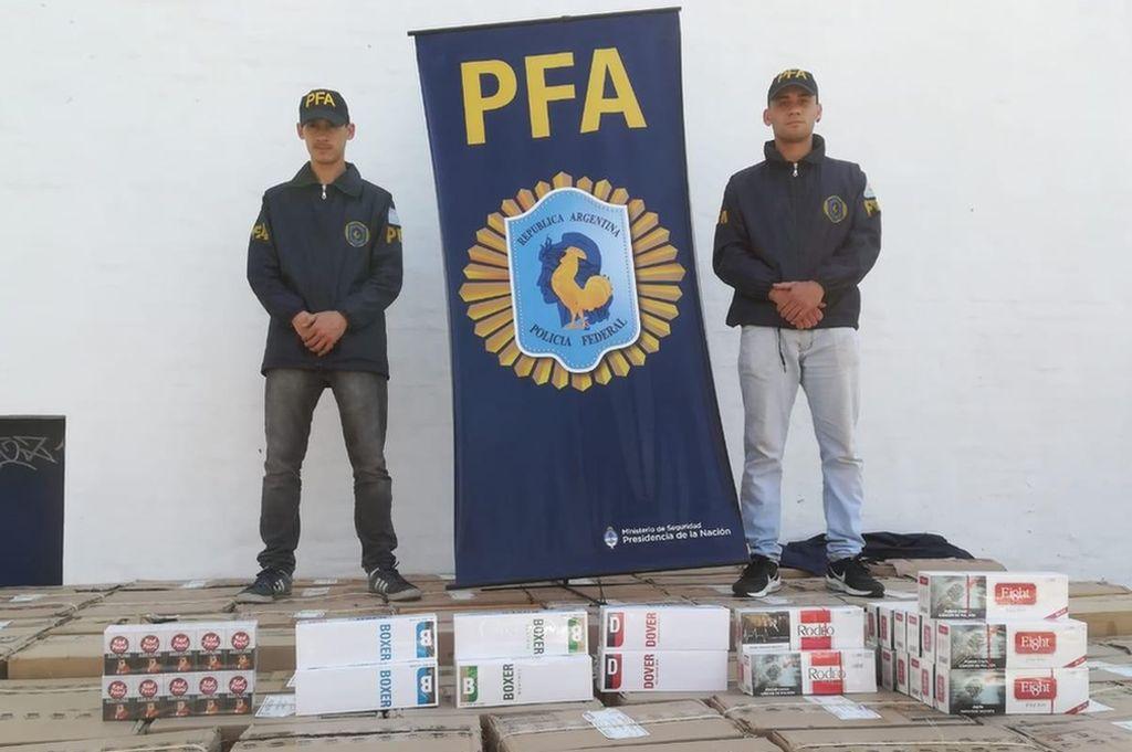 Prensa Ministerio de Seguridad de la Nación.