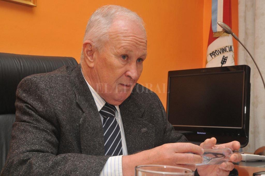 Raúl Lamberto, y la creciente demanda de usuarios. <strong>Foto:</strong> Guillermo Di Salvatore