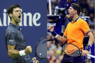 Por la gloria: Del Potro enfrenta a Djokovic en la final del US Open