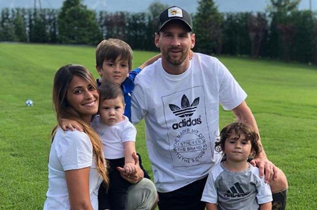 Crédito: Instagram Lionel Messi