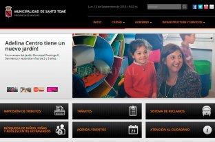 Tras el hackeo, normalizaron la web de la Municipalidad de Santo Tomé