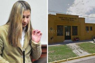 Trasladaron a Nahir Galarza a la cárcel de mujeres de Paraná