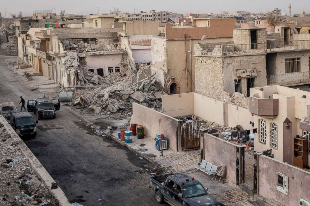 Mosul, Irak. <strong>Foto:</strong> Internet