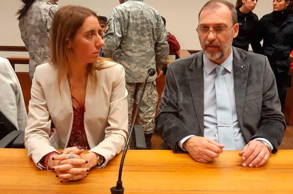 La fiscal Ferraro se mostró conforme con la sentencia.  Crédito: Prensa MPA