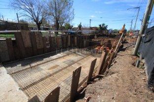 Se retoma la construcción del desagüe Espora