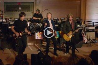 Paul McCartney sorprendió con un concierto en la estación Grand Central de Nueva York