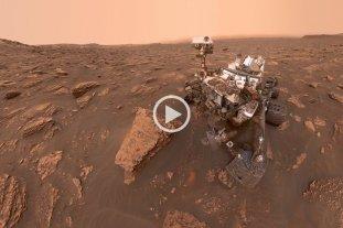 Con una panorámica interactiva, los usuarios ya pueden observar el planeta Marte en 360°