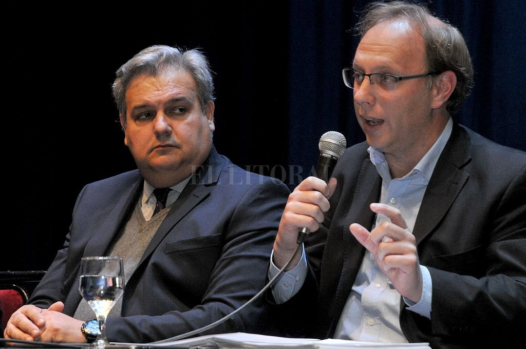Farías y Saglione. <strong>Foto:</strong> Archivo El Litoral / Luis Cetraro