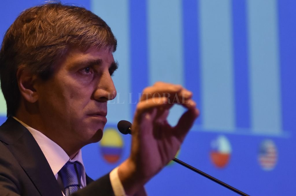 Luis Caputo, titular del BCRA. <strong>Foto:</strong> Archivo El Litoral