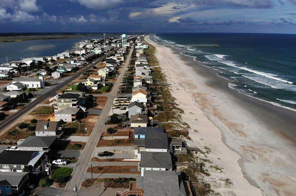 Más de 5.4 millones de personas en Estados Unidos bajo advertencias por el colosal huracán Florence. <strong>Foto:</strong> Internet