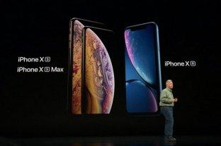 Apple presentó sus nuevos dispositivos: iPhone XS, XS Max y iPhone XR