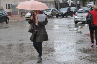 Lluvioso jueves en la ciudad