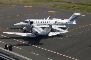 Chocaron dos aviones en el aeropuerto de San Fernando