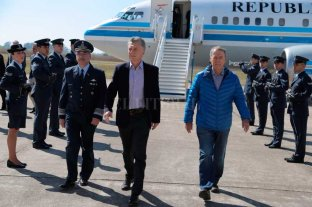 "Macri visitó Córdoba y ratificó: ""Éste es el camino"""