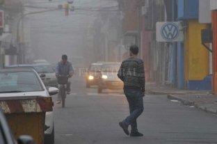 La neblina también es protagonista en la mañana del sábado