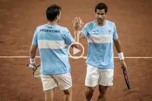 Copa Davis: Argentina ganó el dobles y barrió 3-0 la serie ante Colombia