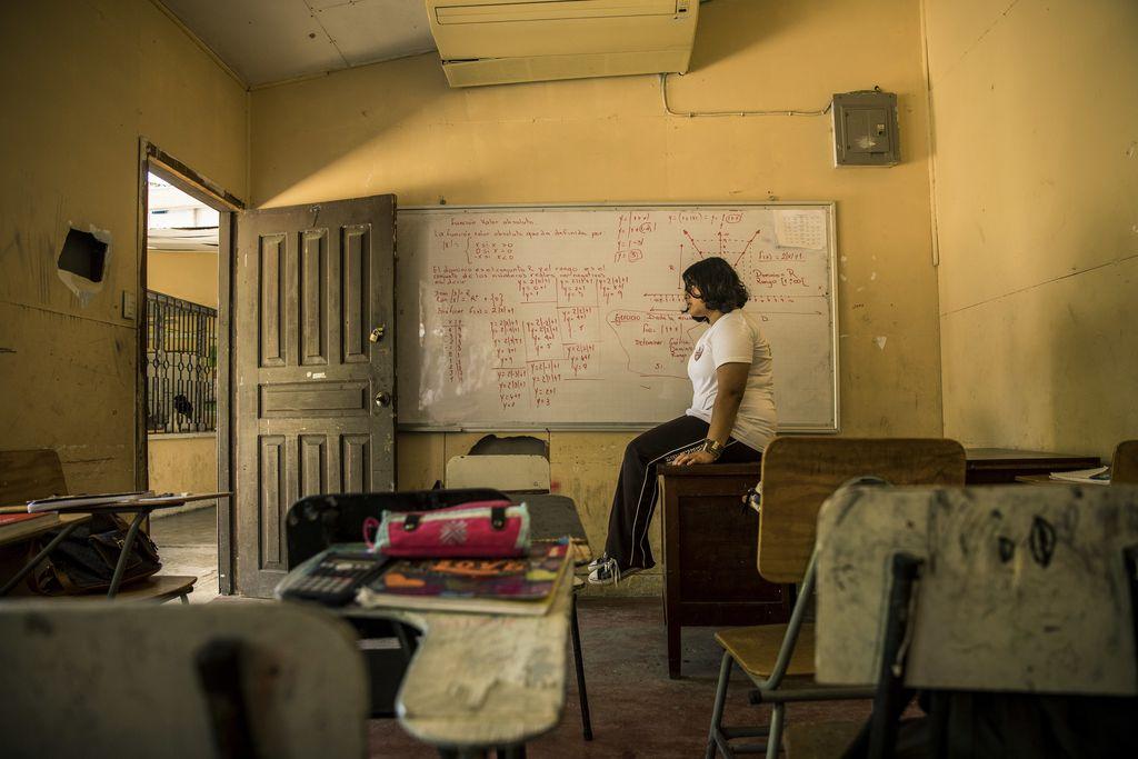 Consecuencias. La violencia en escuelas puede interferir con el desarrollo saludable del cerebro y acarrear consecuencias de por vida. Crédito: Unicef