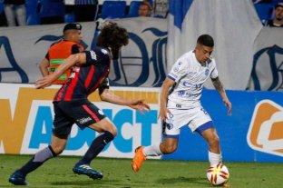 Godoy Cruz le ganó a San Lorenzo en el último suspiro