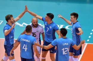 Argentina le ganó a Eslovenia en cinco sets y se acerca a la clasificación -  -