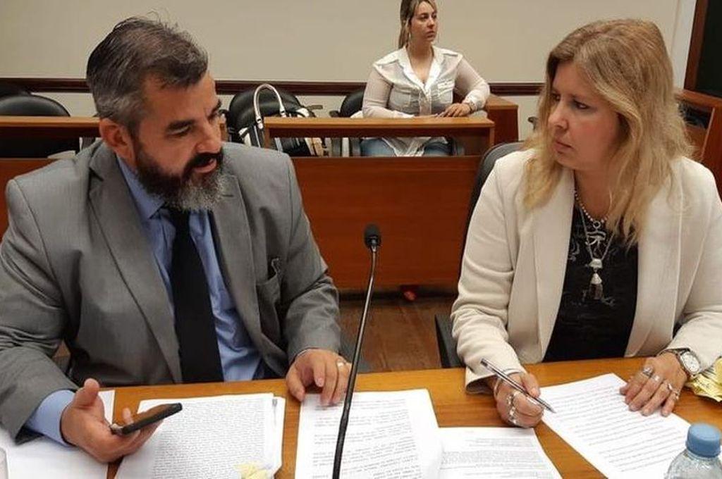 Los fiscales Andrés, Marchi y Rosana Marcolín adelantaron un pedido de pena de 20 años de prisión para el acusado. <strong>Foto:</strong> Prensa MPA