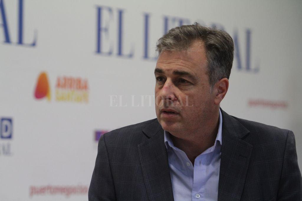 Luis Castellano. <strong>Foto:</strong> Archivo El Litoral - Mauricio Garín