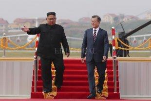 Se reúnen por tercera vez este martes los líderes de Corea del Norte y Sur