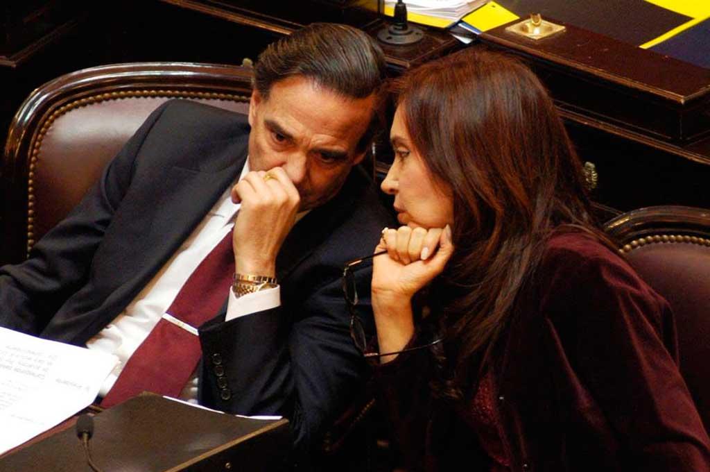 Pichetto, jefe del bloque justicialista del Senado <strong>Foto:</strong> La Nación