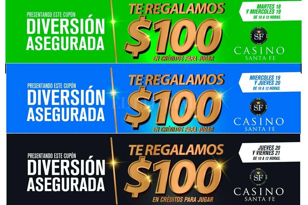 Casino Santa Fe premia a los lectores de El Litoral