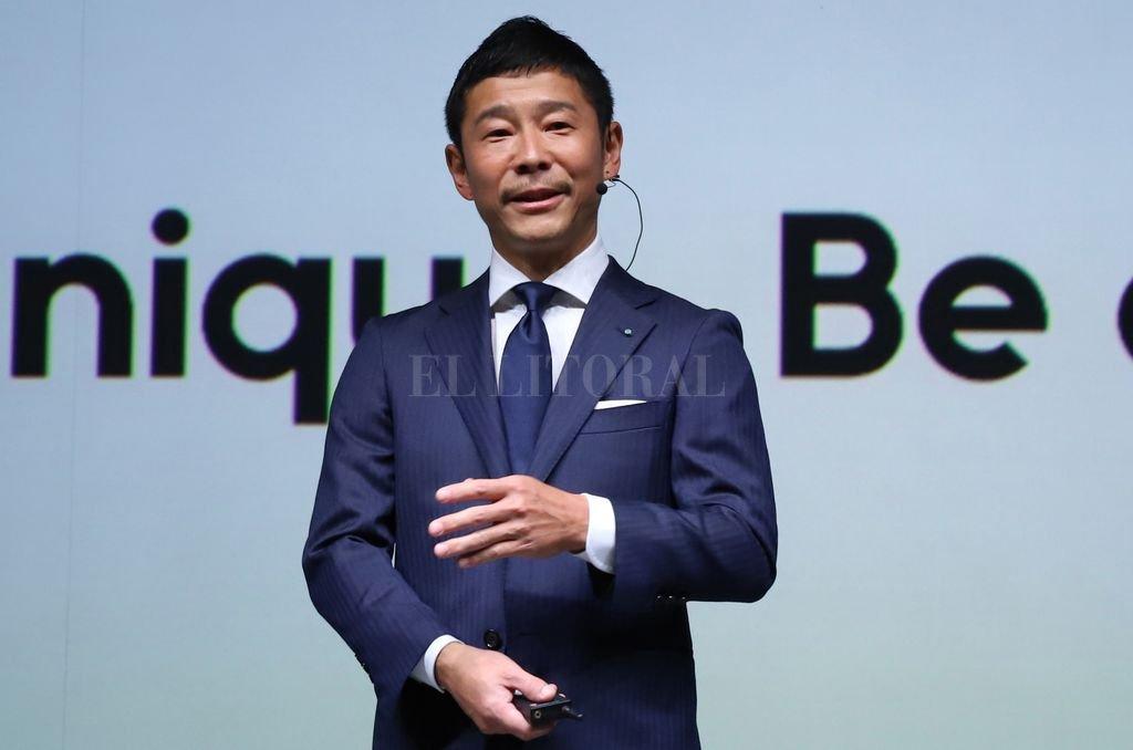 Maezawa, propietario de varias empresas de comercio electrónico y de la Contemporary Art Foundation de Tokio, aseguró que invitará al viaje a entre seis y ocho artistas, arquitectos, diseñadores y otros profesionales creativos. <strong>Foto:</strong> Yoshio Tsunoda