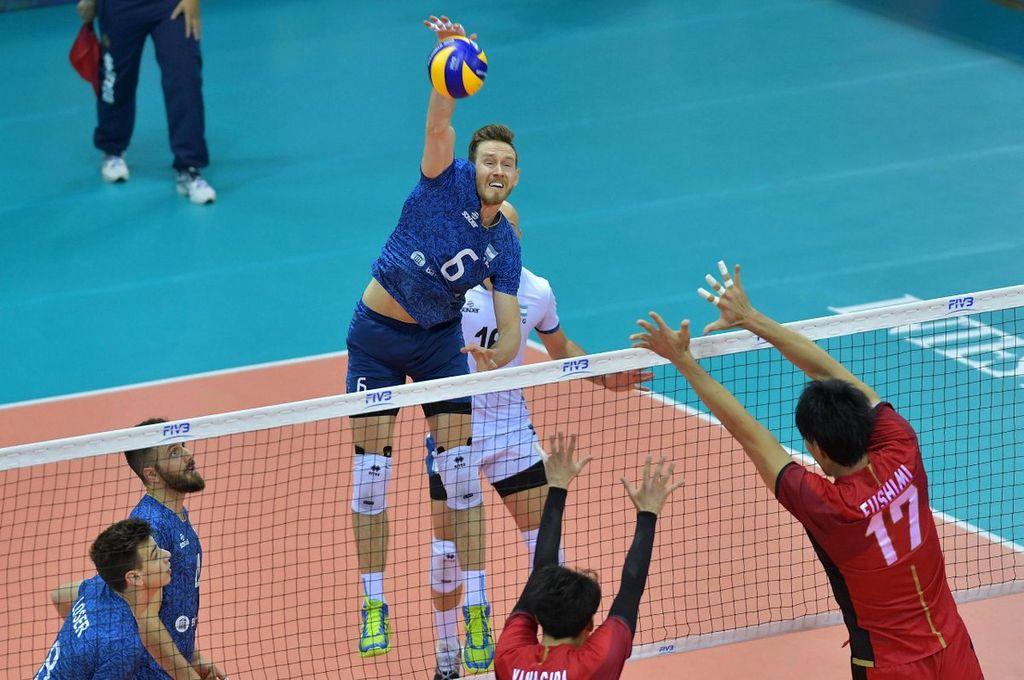 Argentina perdió con Japón pero igual clasificó a la segunda ronda