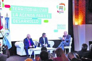 El gobernador de San Juan visitó nuestra provincia en un evento internacional